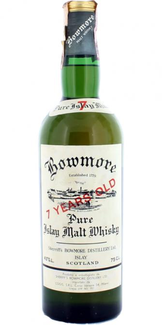 Bowmore 07-year-old Sherriff's