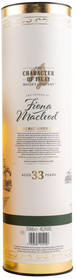 Fiona Macleod 33-year-old TCIWC