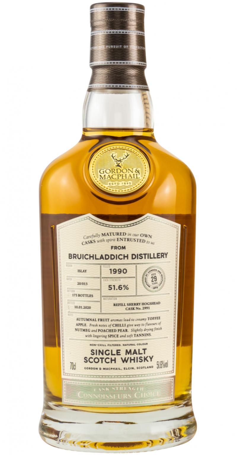 Bruichladdich 1990 GM