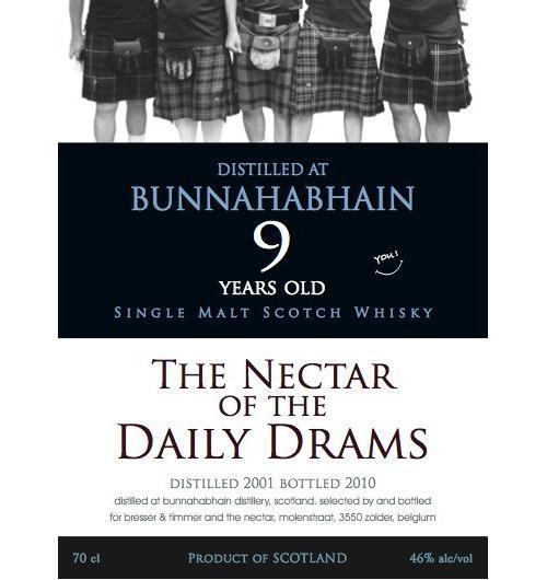 Bunnahabhain 2001 DD