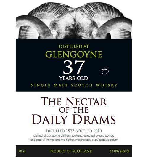 Glengoyne 1972 DD