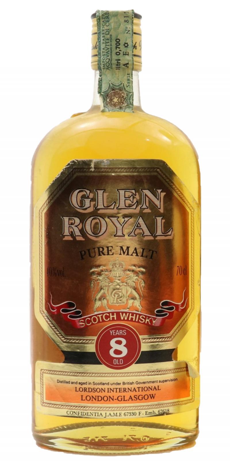 Glen Royal 08-year-old