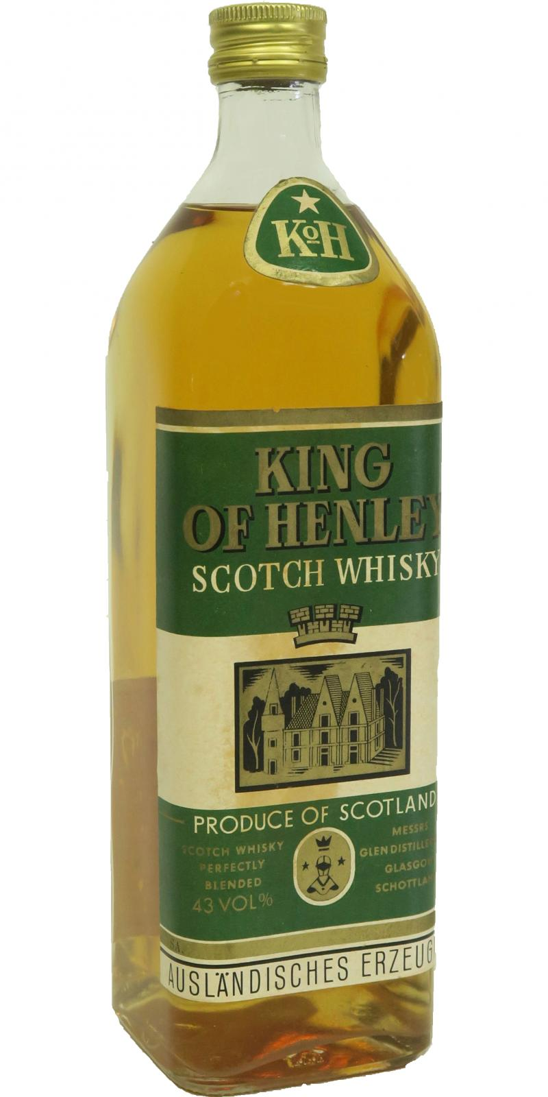 King of Henley Scotch Whisky