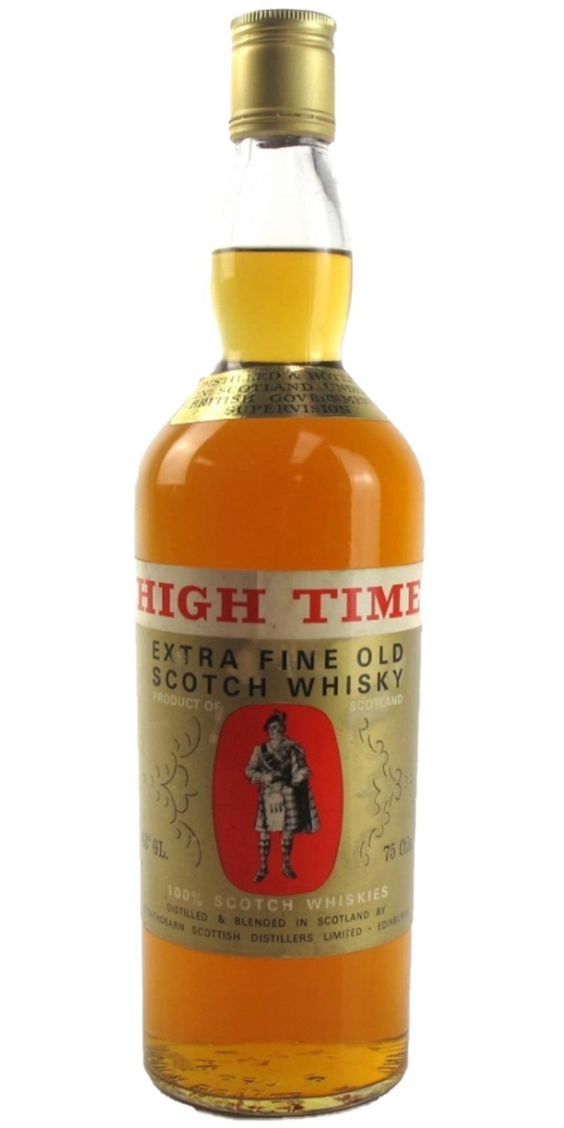 High Time Extra Fine Old Scotch Whisky