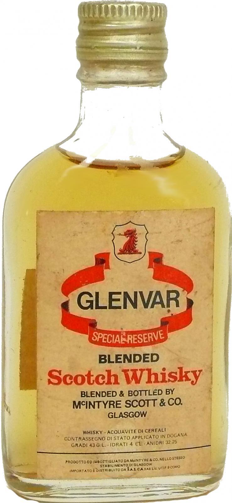 Glenvar Special Reserve