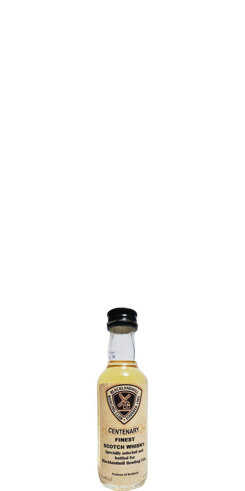 Centenary Finest Scotch Whisky