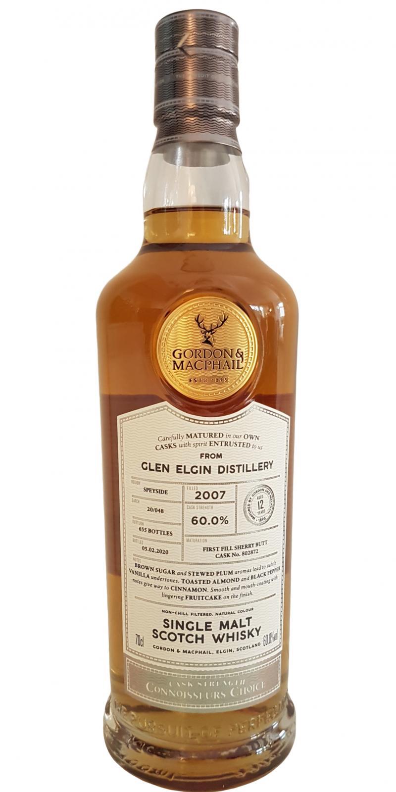 Glen Elgin 2007 GM