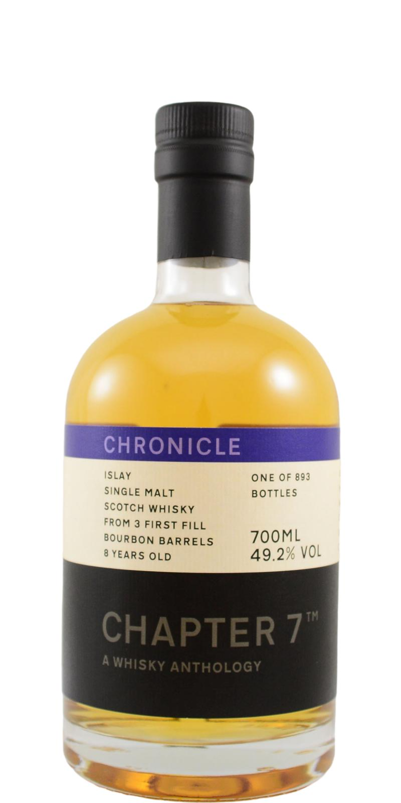 Islay Single Malt Scotch Whisky 08-year-old Ch7