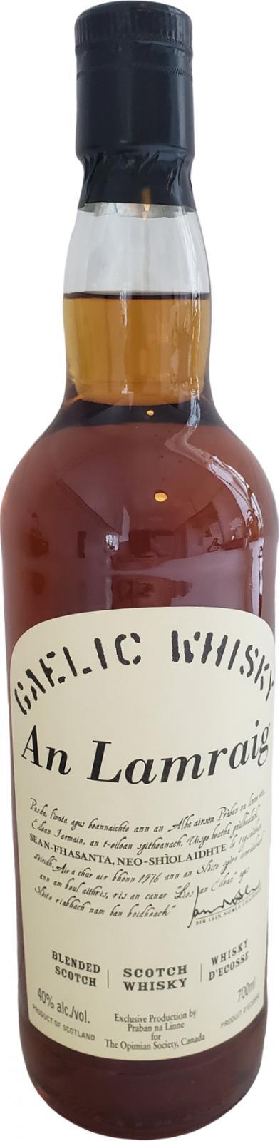 Blended Scotch Whisky An Lamraig