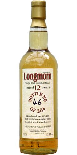 Longmorn 1997 BF