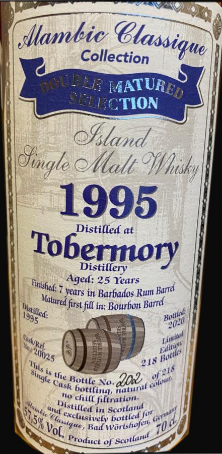 Tobermory 1995 AC