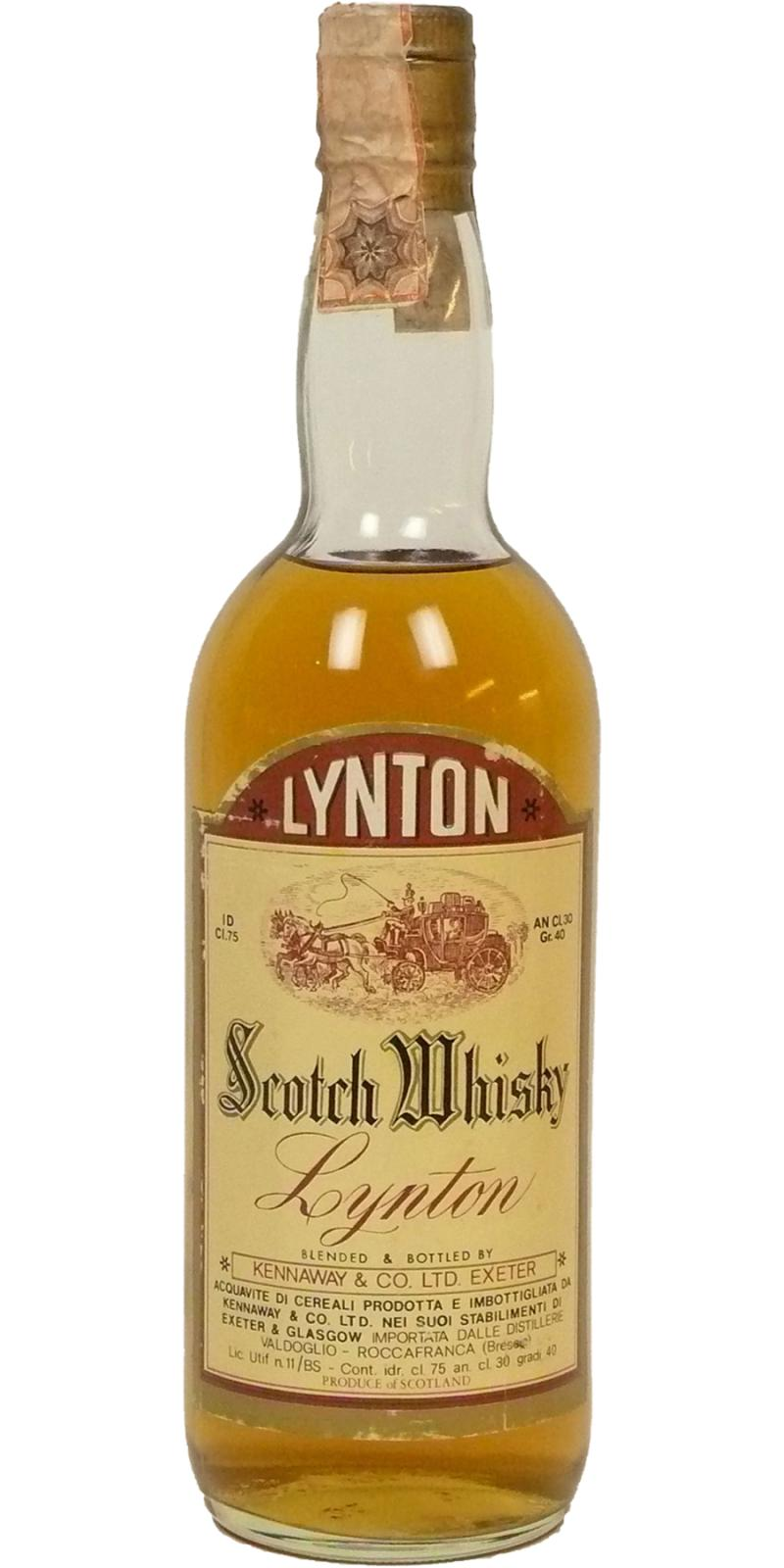 Lynton Scotch Whisky