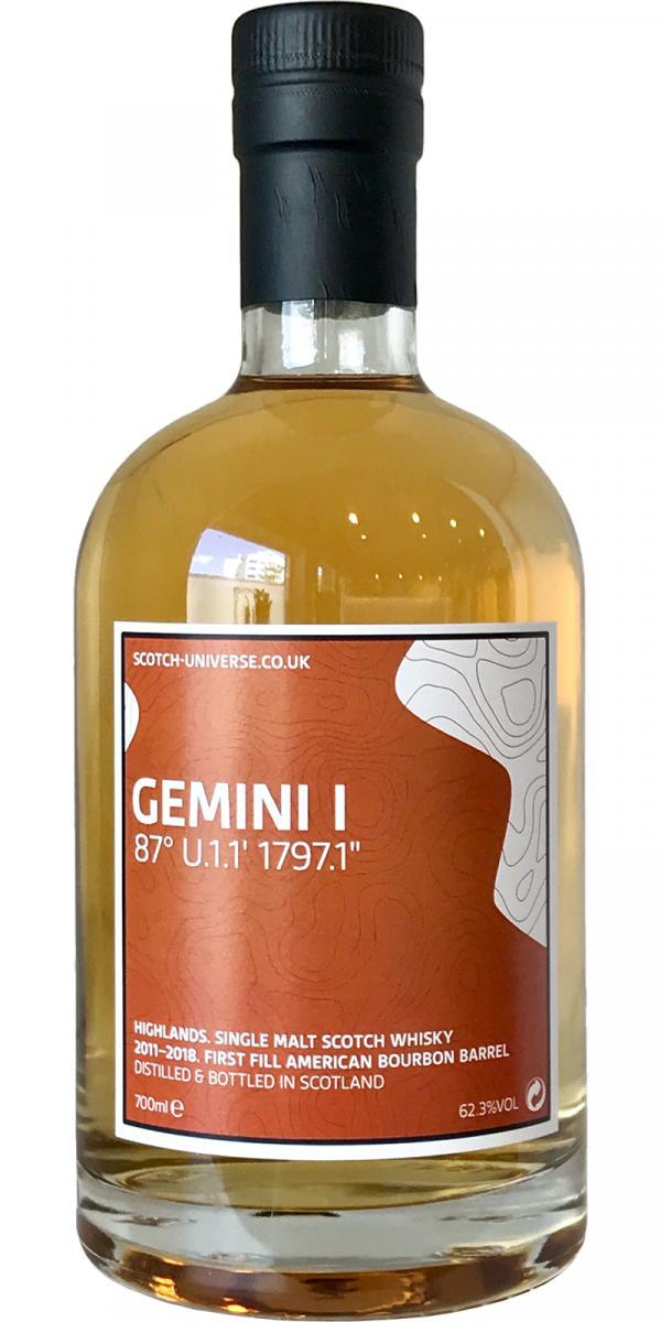 Scotch Universe Gemini I - 87° U.1.1' 1797.1''