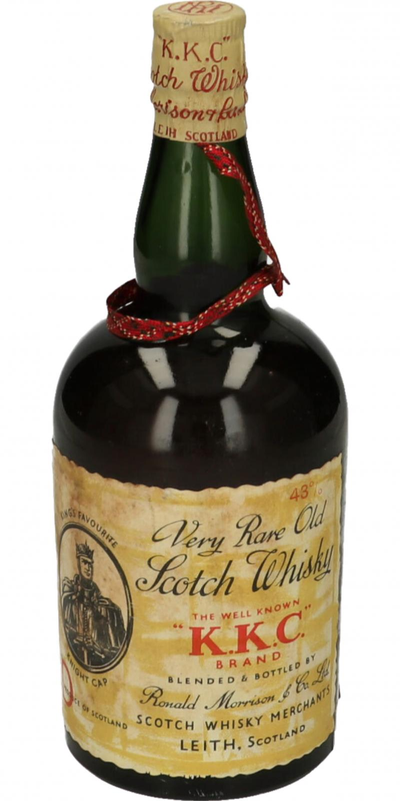 King's Favourite Knight Cap Very Rare Old Scotch Whisky