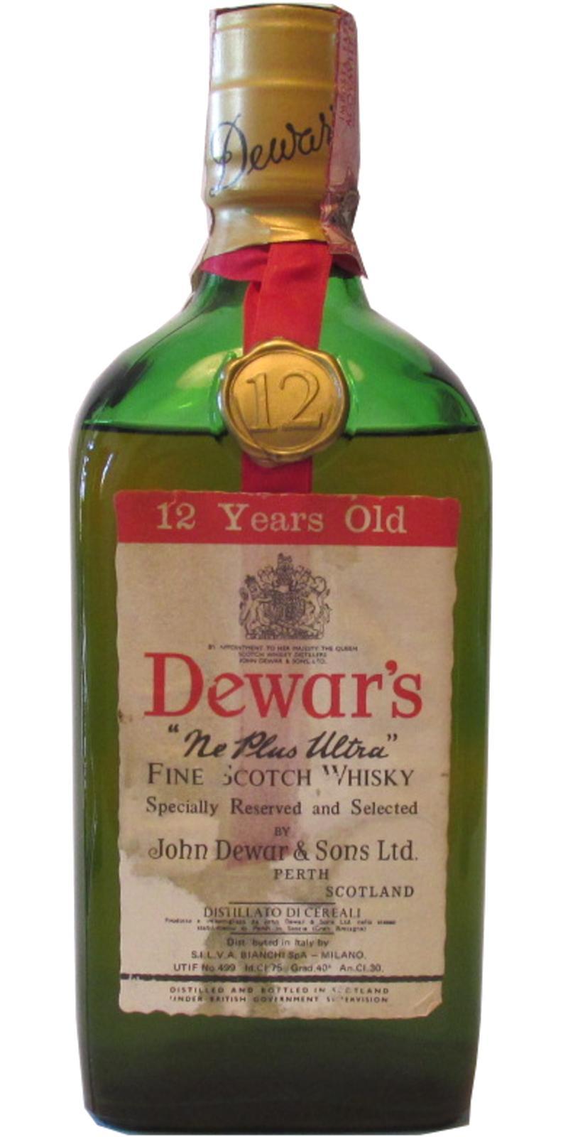 Dewar's Ne Plus Ultra