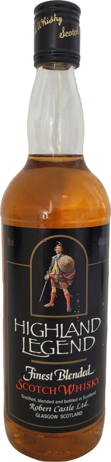 Highland Legend Finest Blended Scotch Whisky