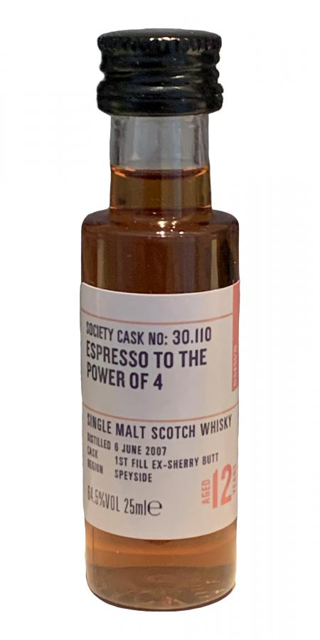 Glenrothes 2007 SMWS 30.110