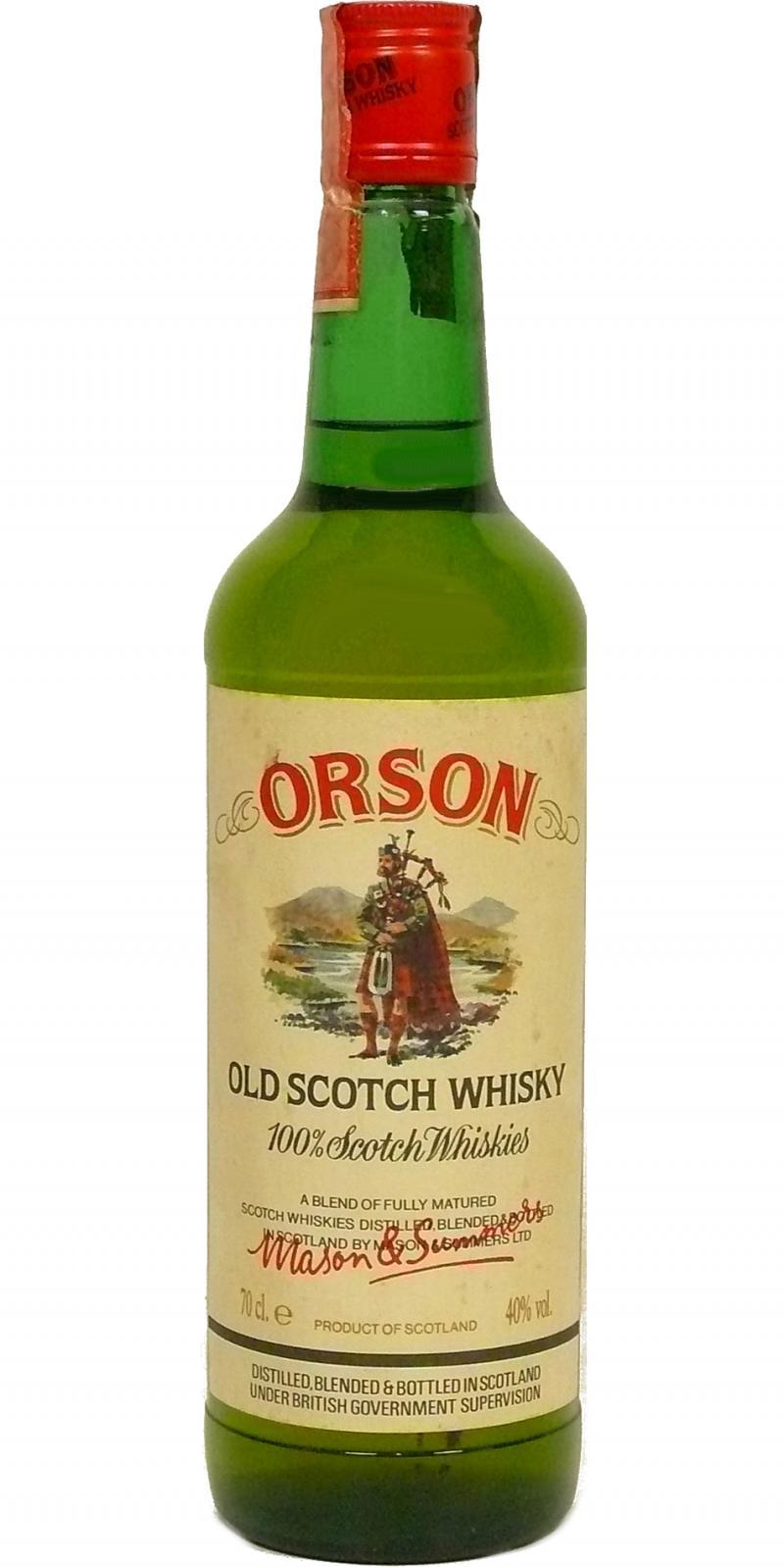 Orson Old Scotch Whisky