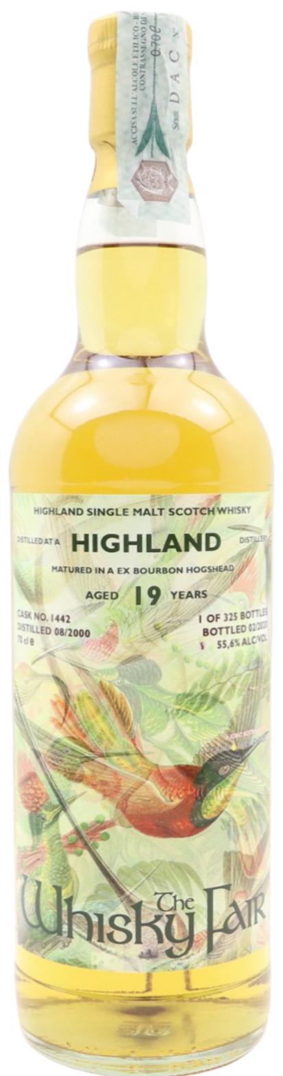Highland Distillery 2000 WF
