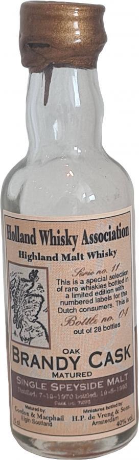 Highland Malt Whisky 1970 HPdV