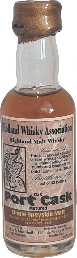 Highland Malt Whisky 1967 HPdV