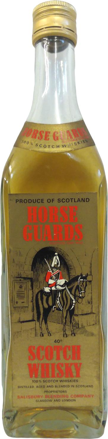 Horse Guards Scotch Whisky