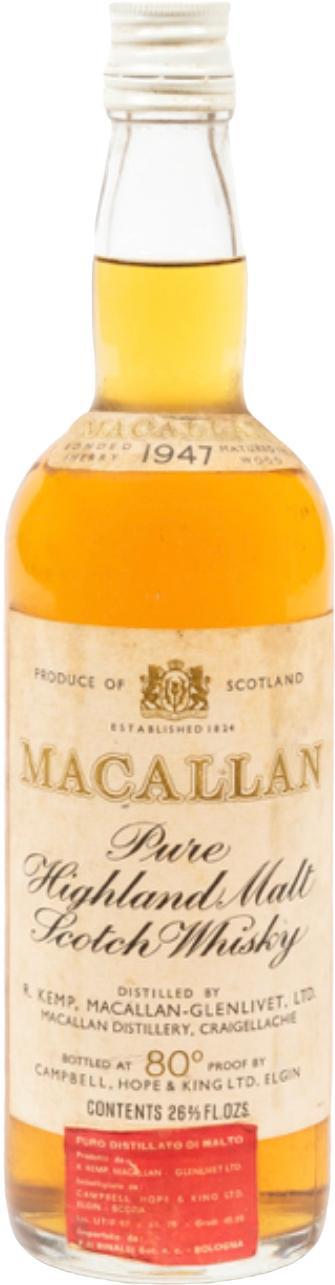Macallan 1947 CH&K