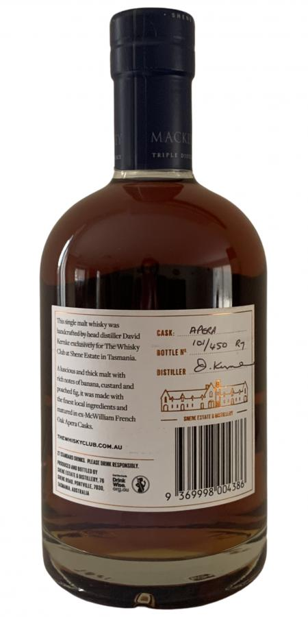Mackey Tasmanian Single Malt Whisky