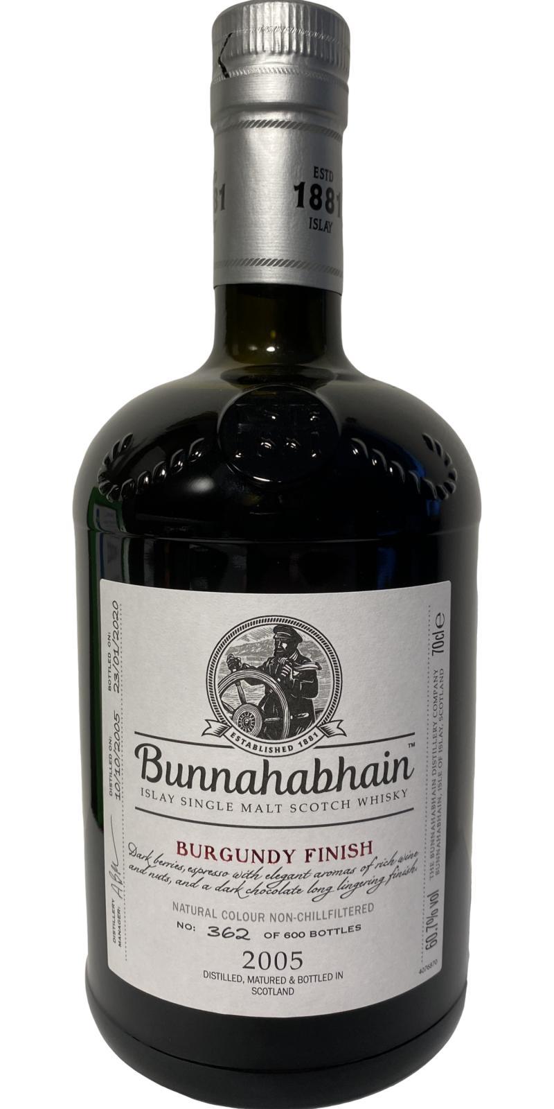 Bunnahabhain 2005