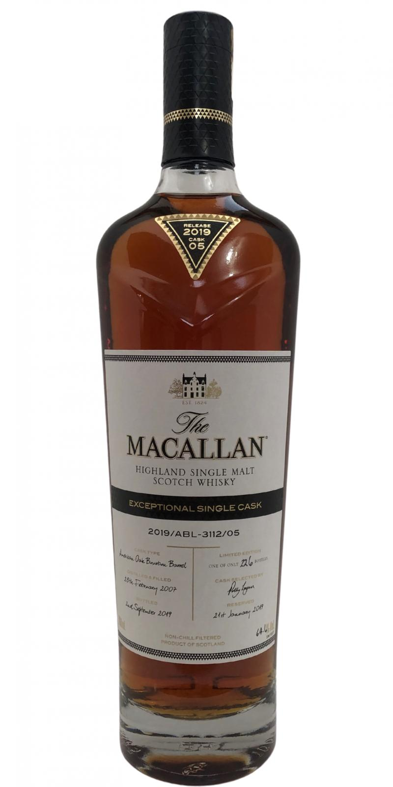 Macallan 2019 / ABL-3112-05