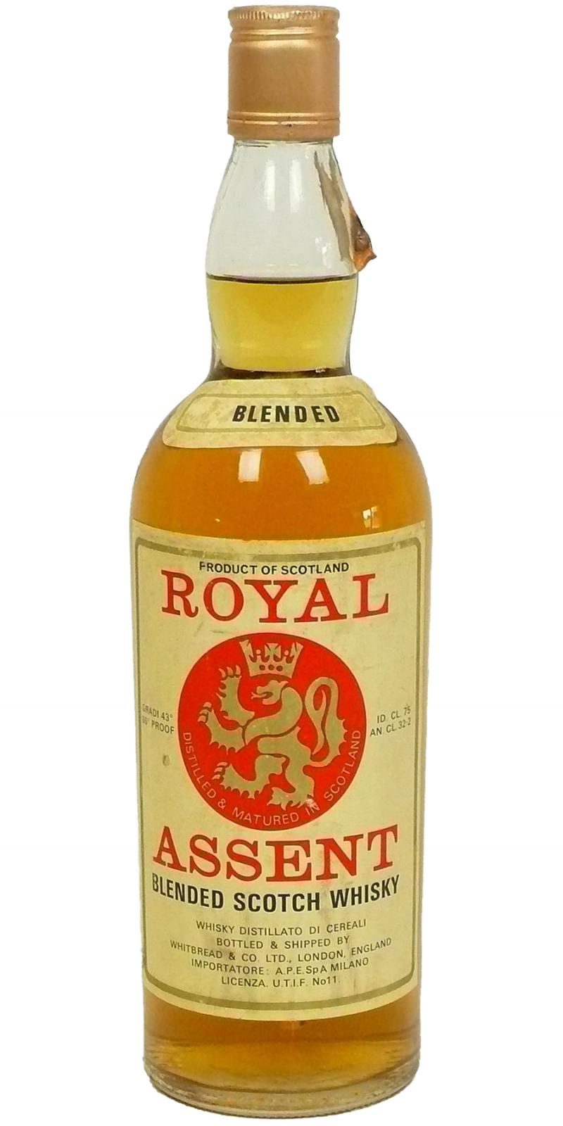 Royal Assent Blended Scotch Whisky