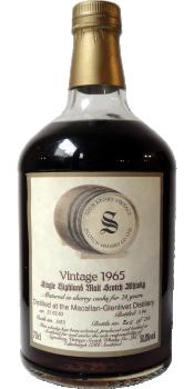 Macallan 1965 SV