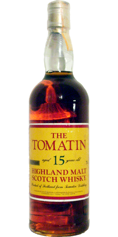 Tomatin 15-year-old Ses