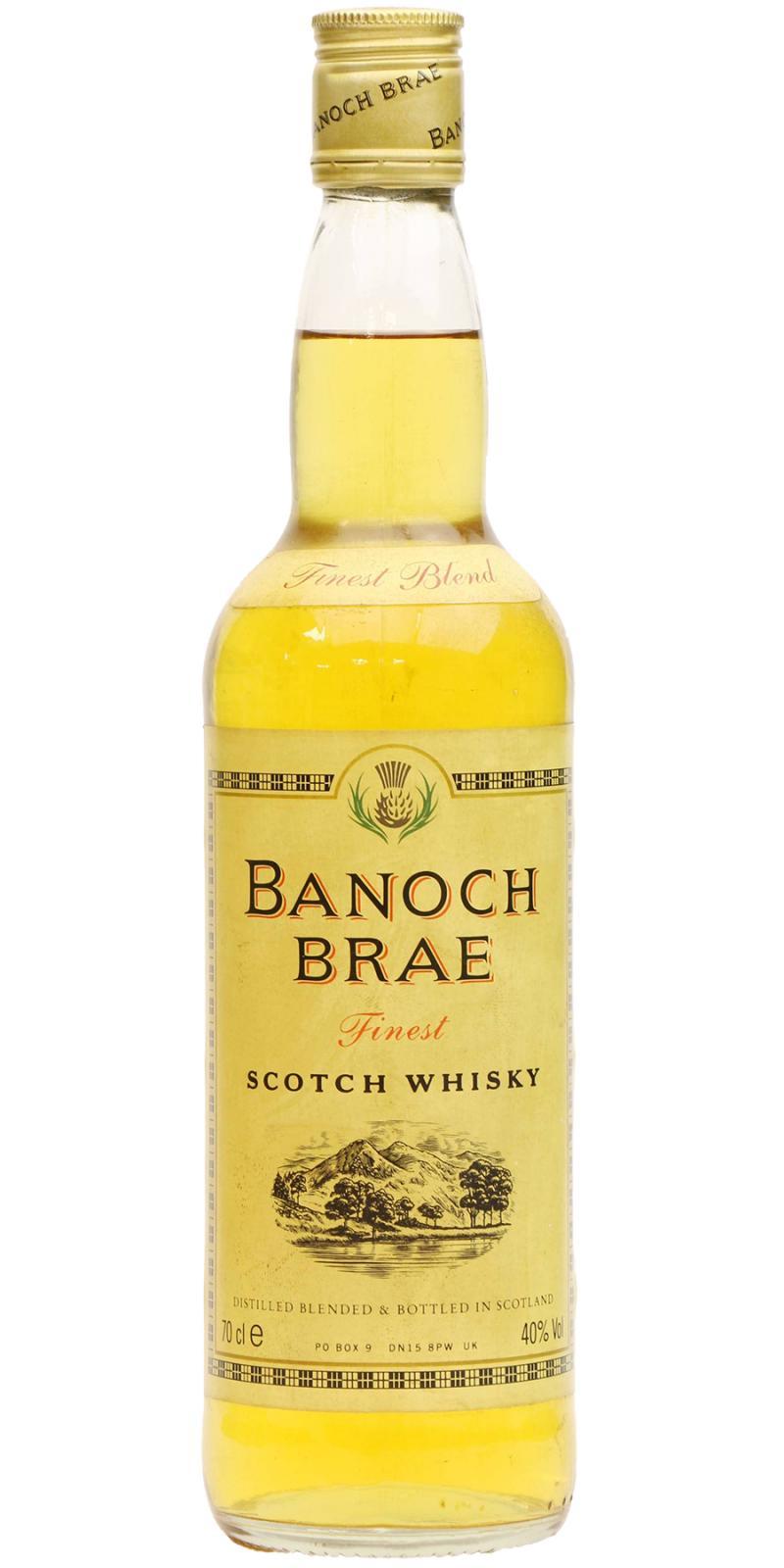 Banoch Brae Finest Scotch Whisky