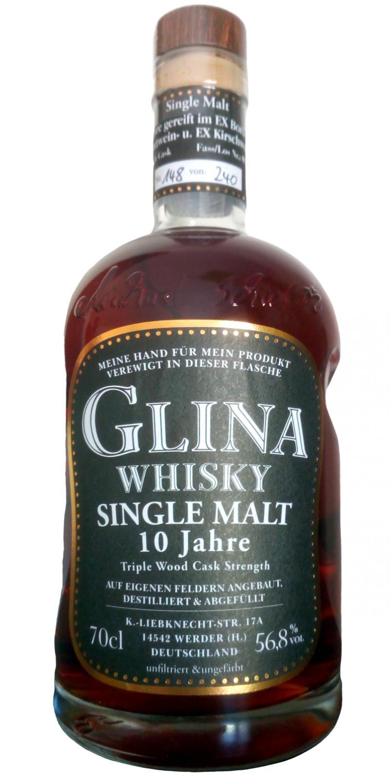 Glina Whisky 10-year-old