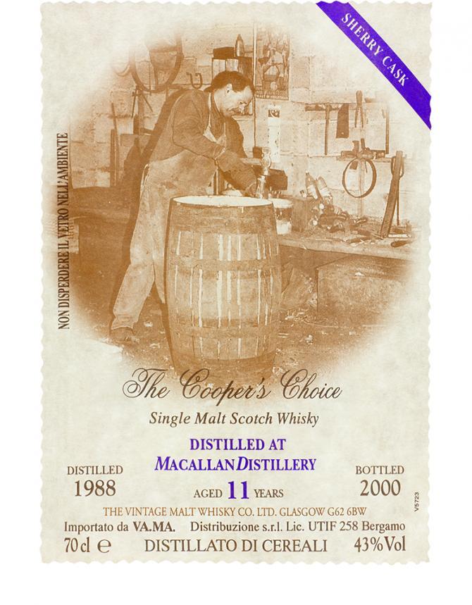 Macallan 1988 VM