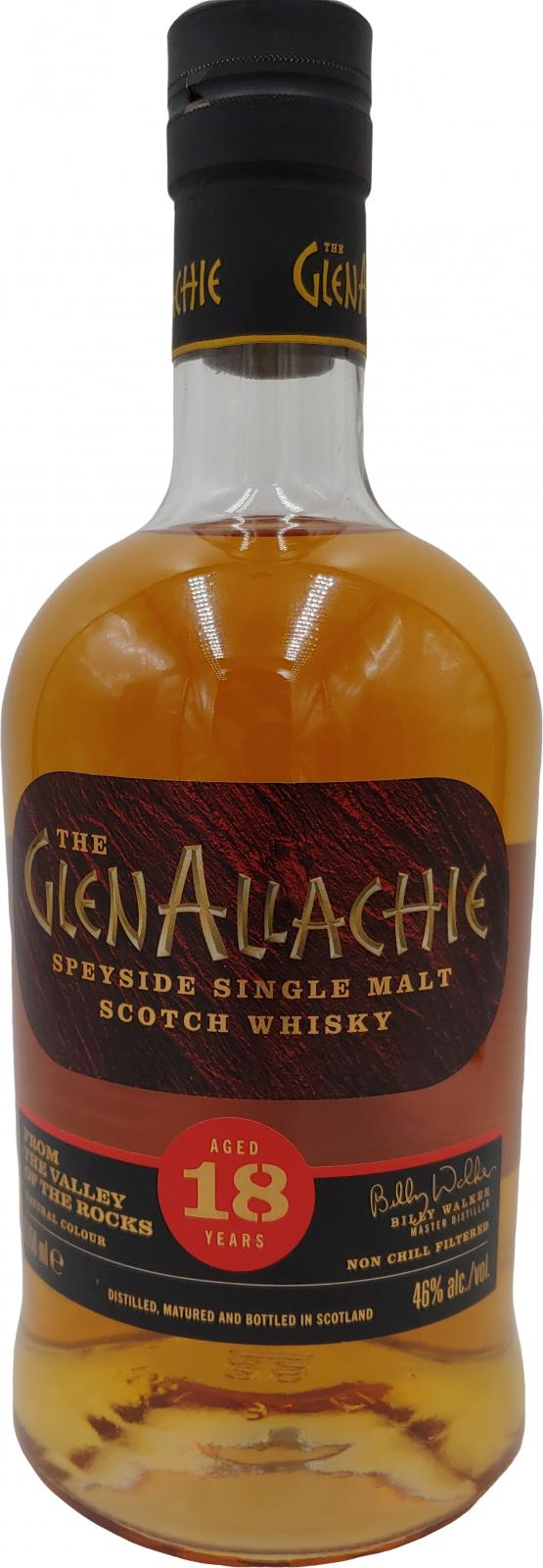 Glenallachie 18-year old
