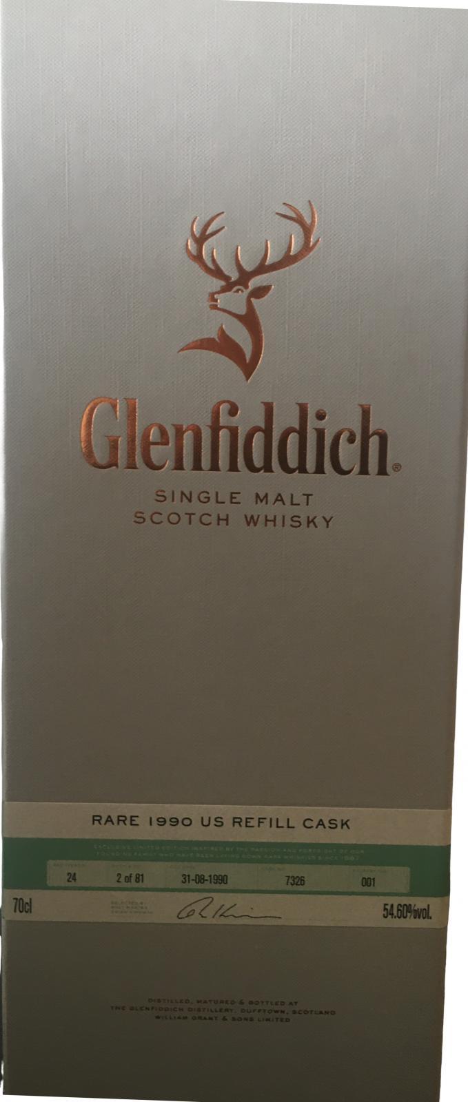 Glenfiddich 1990