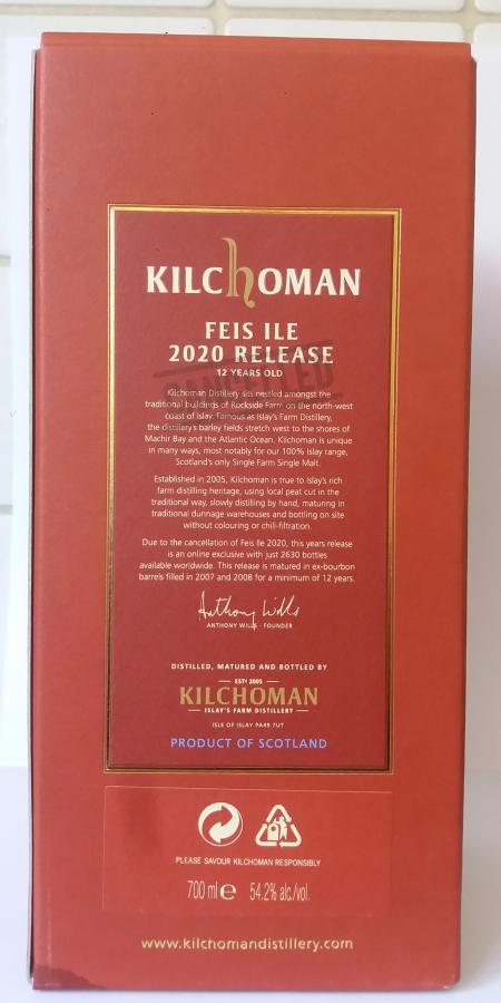 Kilchoman 12-year-old