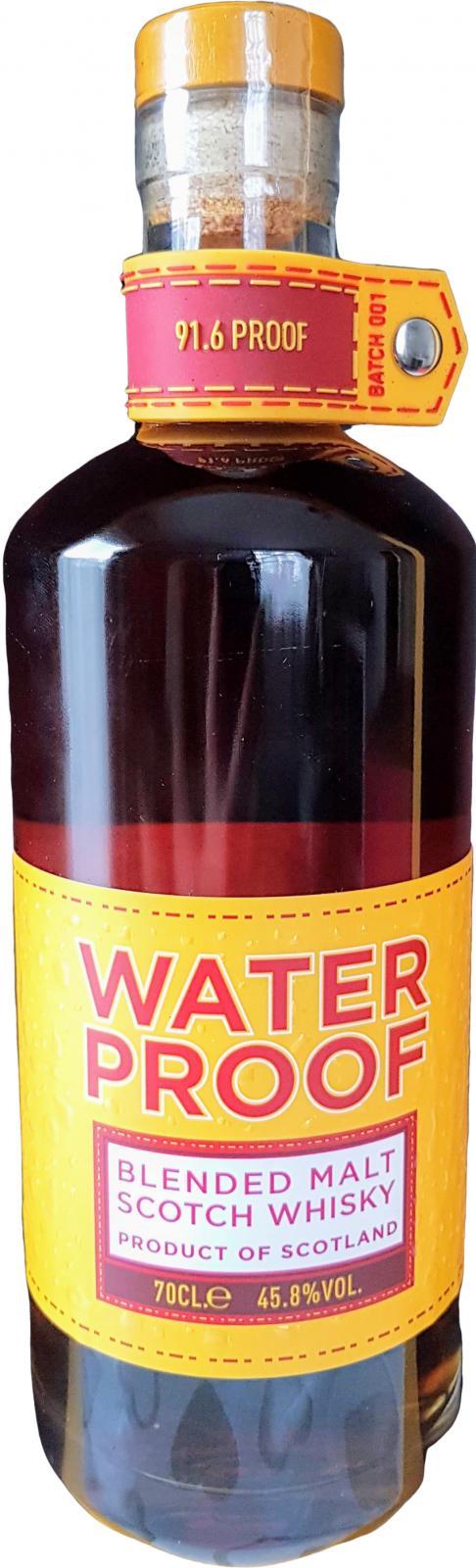Waterproof Blended Malt Scotch Whisky