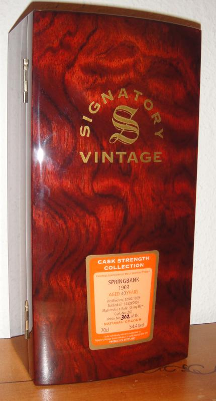 Springbank 1969 SV