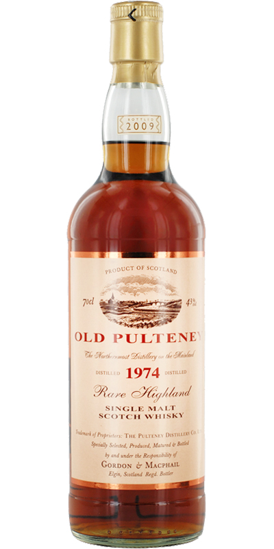 Old Pulteney 1974 GM