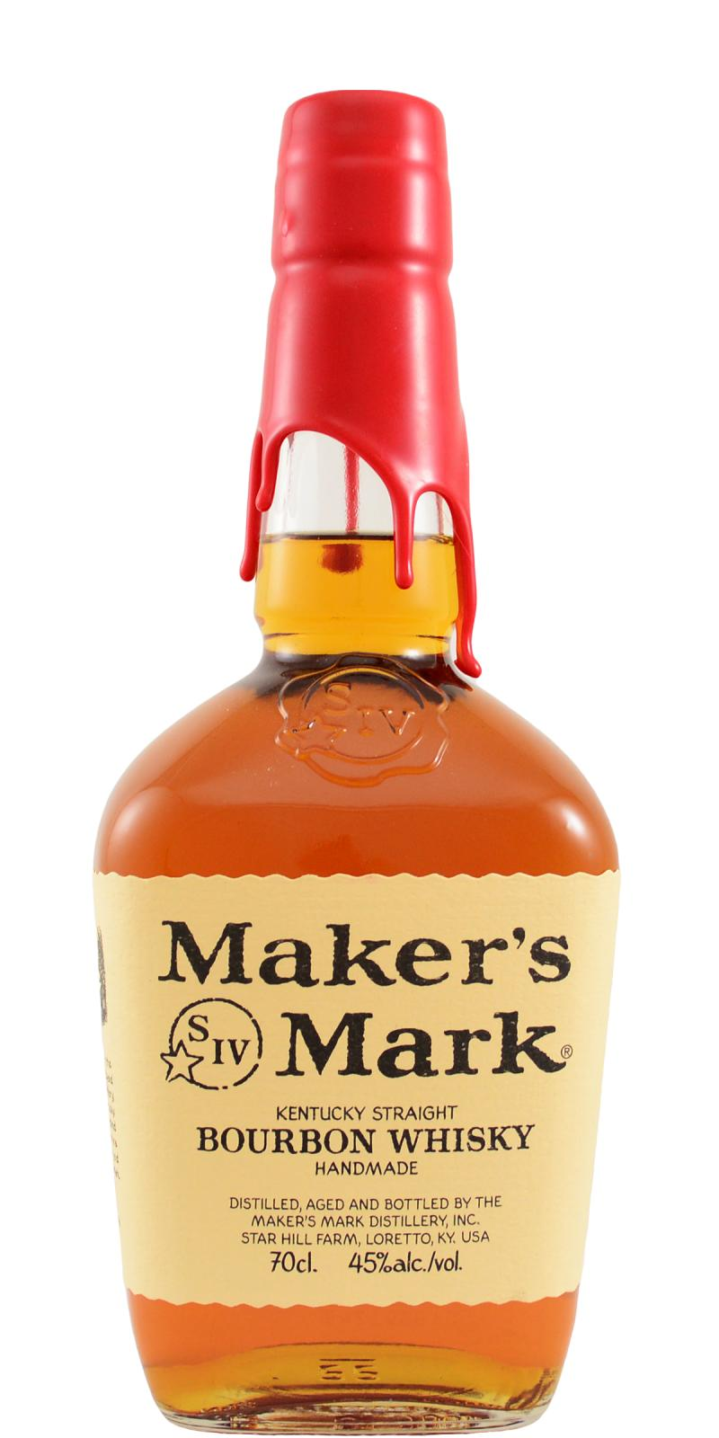 Maker's Mark Red Wax