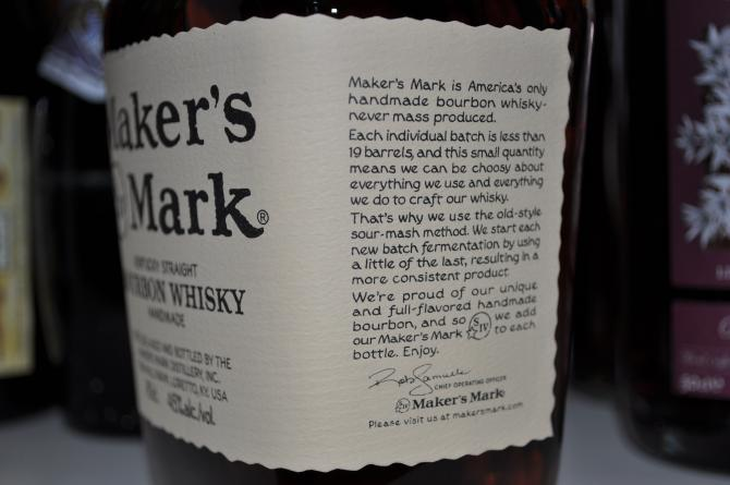 Maker's Mark Red Wax