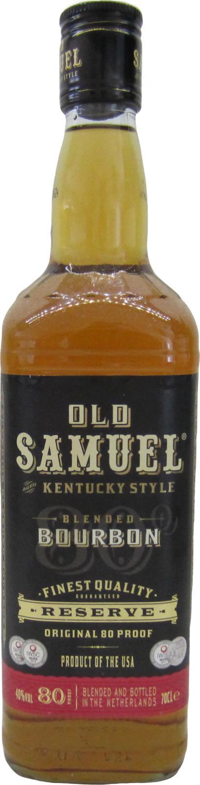 Old Samuel Blended Bourbon Whiskey