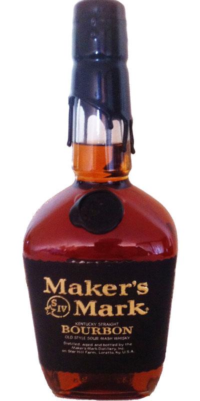 Maker's Mark Black Wax
