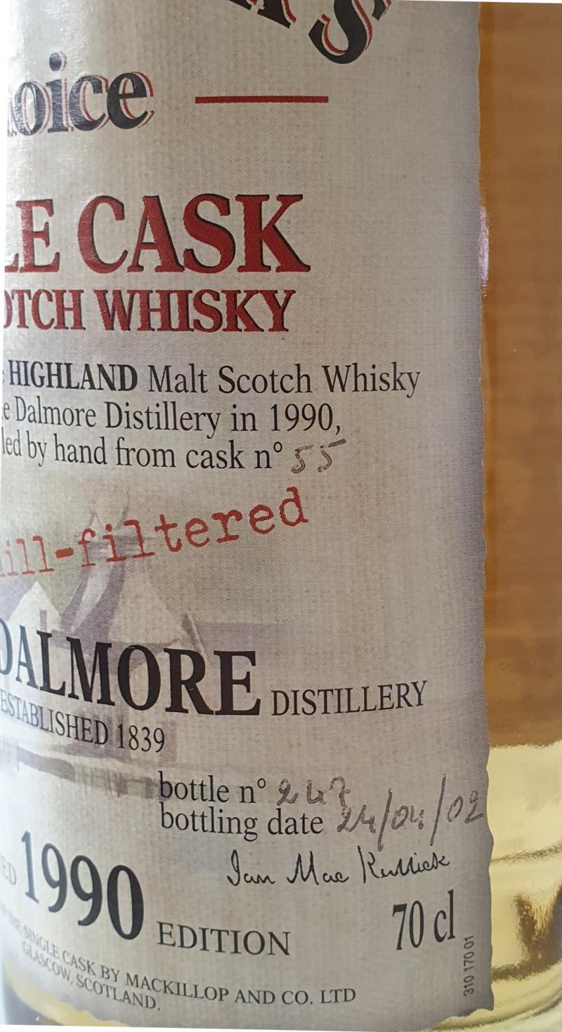 Dalmore 1990 McC