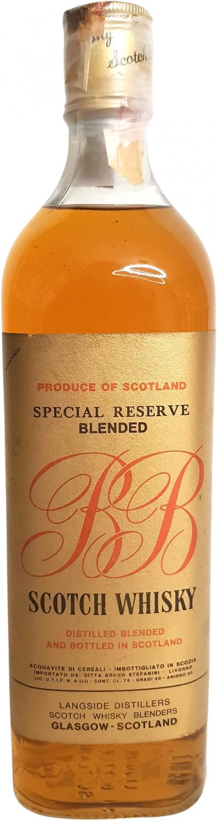 B&B Blended Scotch Whisky
