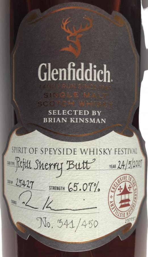 Glenfiddich 2007