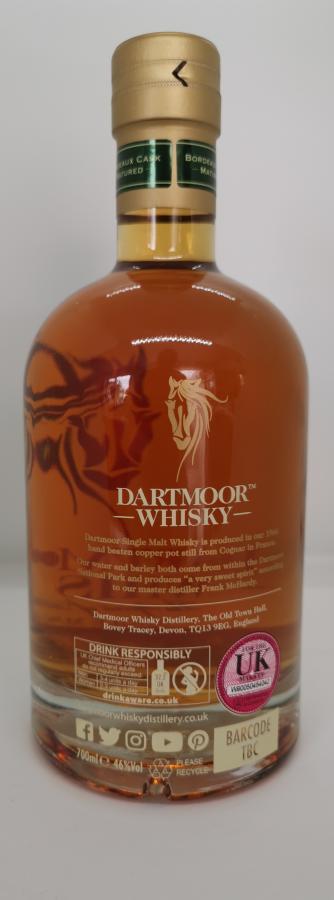 Dartmoor Whisky 2017